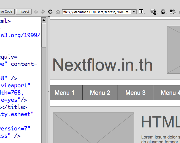 Adobe Proto Extension demo by Nextflow.in.th