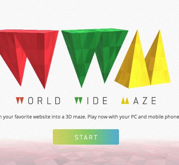 World Wide Maze by Chrome Experiment