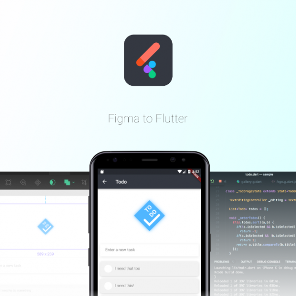 Blog cover - Figma to Flutter