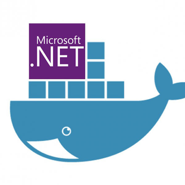 Docker ASP.NET Core - Blog post cover