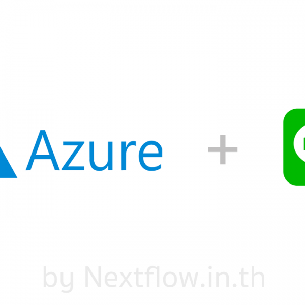Nextflow - Azure - Bot connect LINE - Facebook Cover